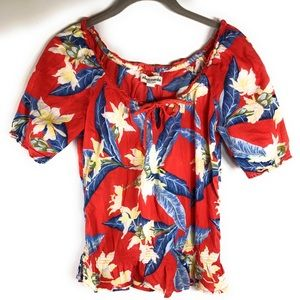 Abercrombie Island Floral Top